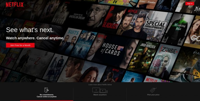 Netflix React