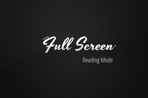 Полноэкранный режим сайта с помощью FullScreen API