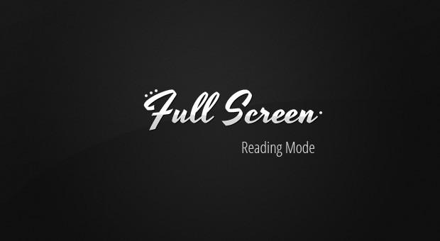 FullScreen API