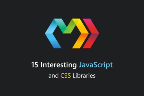 15 интересных JavaScript и CSS библиотек за сентябрь 2017 года