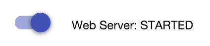 Web Server: STARTED