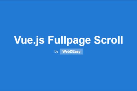 Пишем скроллинг на весь экран с Vue.js
