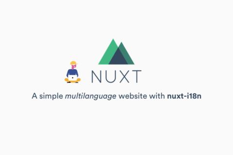 Простой многоязычный сайт с Nuxt.js и nuxt-i18n